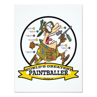 WORLDS GREATEST PAINTBALLER MEN CARTOON CARD
