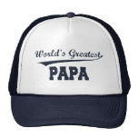World's Greatest Papa hat
