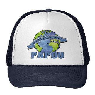 World's Greatest Papou Cap