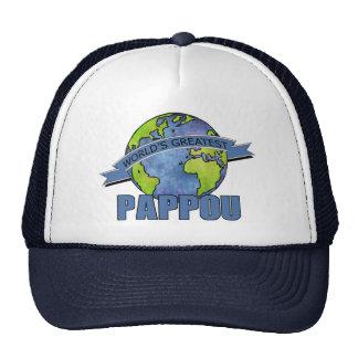 World's Greatest Pappou Mesh Hats