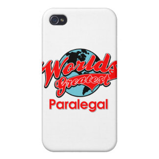 World's Greatest Paralegal iPhone 4 Case