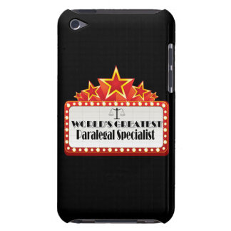 World's Greatest Paralegal Specialist iPod Touch Cases