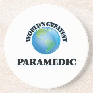 World's Greatest Paramedic Drink Coasters