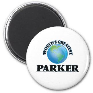 World's Greatest Parker 6 Cm Round Magnet
