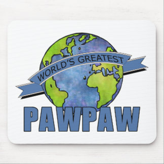 World's Greatest PawPaw Mouse Pad