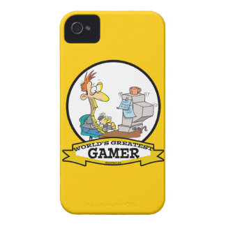 WORLDS GREATEST PC GAMER TEEN CARTOON iPhone 4 COVER