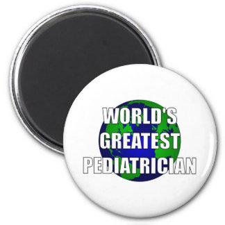 World's Greatest Pediatrician 6 Cm Round Magnet