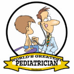 WORLDS GREATEST PEDIATRICIAN MEN CARTOON