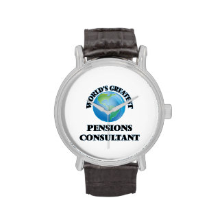 World's Greatest Pensions Consultant Wrist Watches