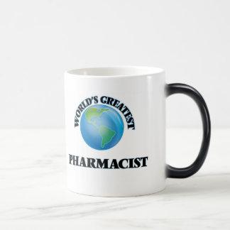 World's Greatest Pharmacist Morphing Mug