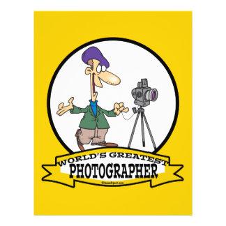WORLDS GREATEST PHOTOGRAPHER II MEN CARTOON CUSTOM FLYER