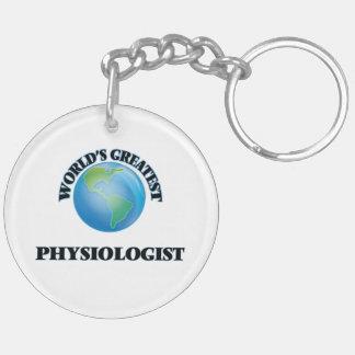 World's Greatest Physiologist Acrylic Keychain