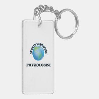 World's Greatest Physiologist Acrylic Key Chain