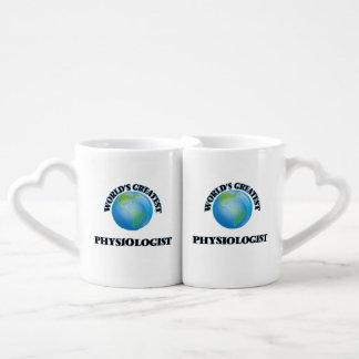 World's Greatest Physiologist Lovers Mug Set