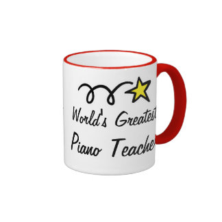 World's Greatest Piano Teacher - Coffee Mug gift