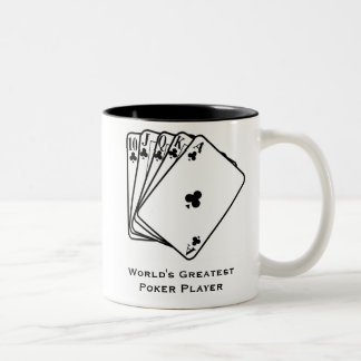 World's Greatest Poker Player Coffee Mug