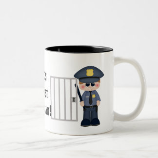 World's Greatest Policeman coffee mug