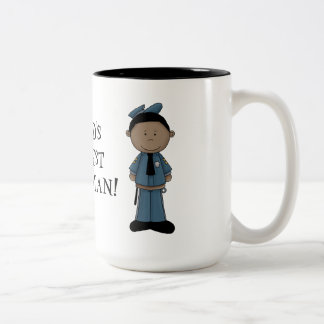 World's Greatest policeman mug