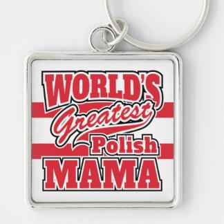 World's Greatest Polish Mama Key Ring