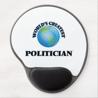 World's Greatest Politician Gel Mouse Pads