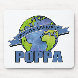 World's Greatest Poppa Mouse Pad