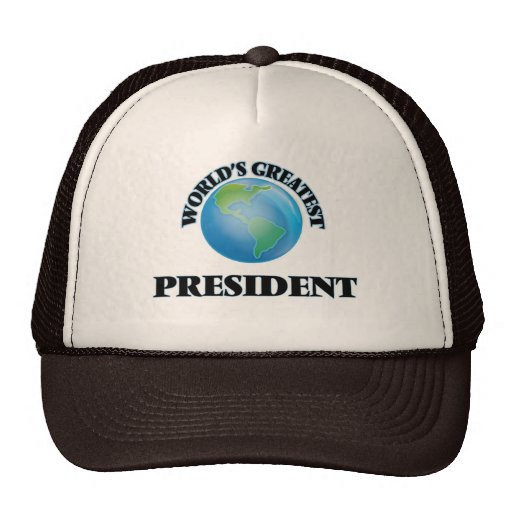 World's Greatest President Mesh Hat