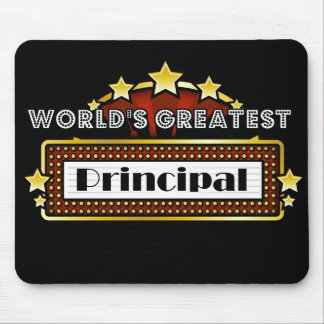 World's Greatest Principal Mouse Mat