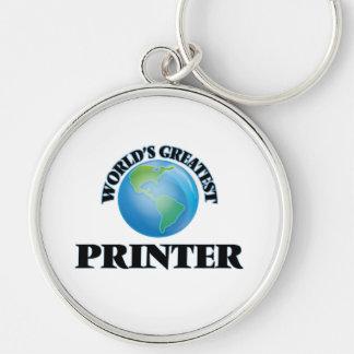 World's Greatest Printer Keychain