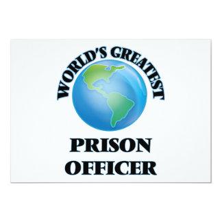 World's Greatest Prison Officer Invitation