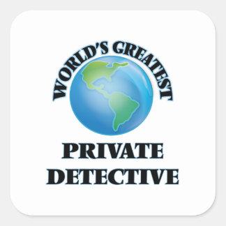 World's Greatest Private Detective Sticker