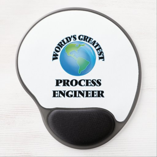 World's Greatest Process Engineer Gel Mouse Pad