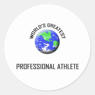 World's Greatest Professional Athlete Sticker