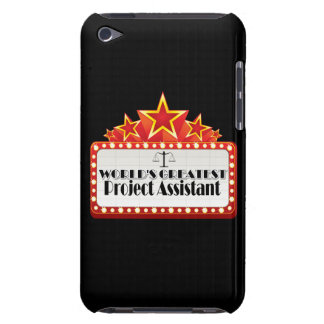 World's Greatest Project Assistant iPod Touch Cases
