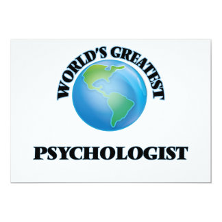World's Greatest Psychologist Invites