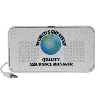World's Greatest Quality Assurance Manager Travel Speaker