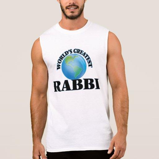 World's Greatest Rabbi Sleeveless Tee
