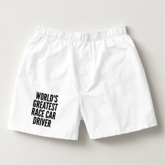 Worlds Greatest Race Car Driver Boxers