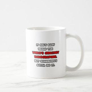 World's Greatest Radiographer Joke Coffee Mug
