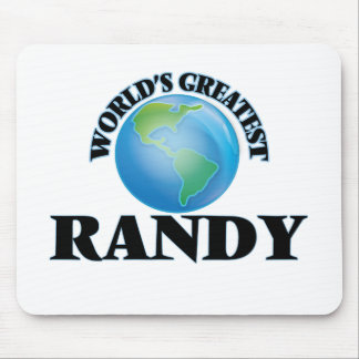 World's Greatest Randy Mouse Pads