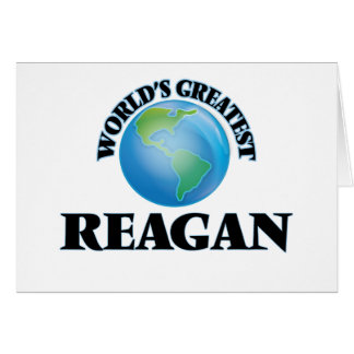 World's Greatest Reagan Stationery Note Card