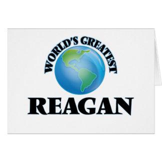 World's Greatest Reagan Note Card