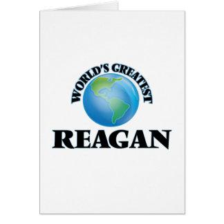 World's Greatest Reagan Greeting Card