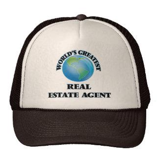 World's Greatest Real Estate Agent Trucker Hat
