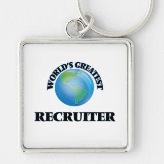 World's Greatest Recruiter Keychain