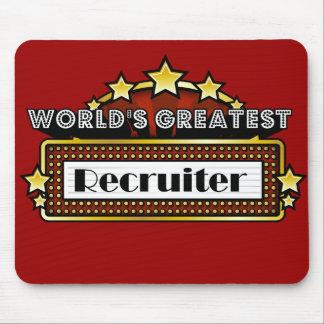 World's Greatest Recruiter Mouse Mat