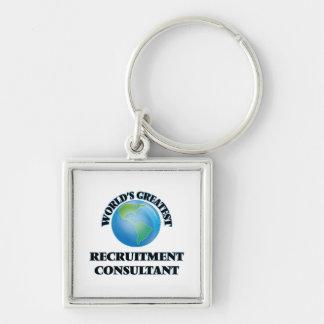 World's Greatest Recruitment Consultant Key Chain