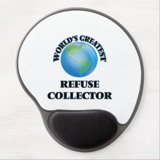 World's Greatest Refuse Collector Gel Mousepad