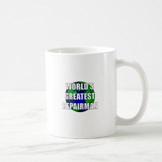 World's Greatest Repairman Basic White Mug