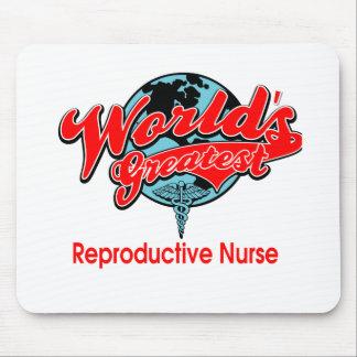 World's Greatest Reproductive Nurse Mouse Pad