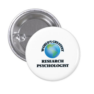 World's Greatest Research Psychologist Pins